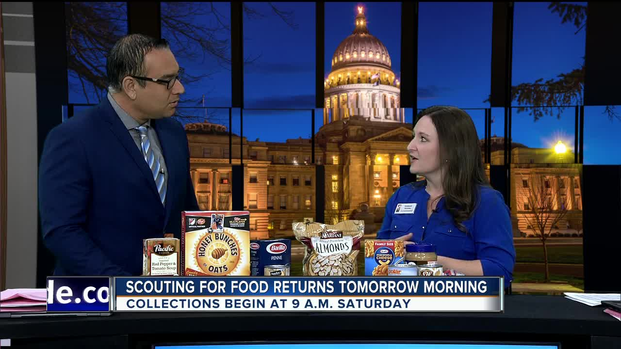 Idaho Foodbank Scouting for Food