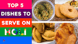 Top 5 dishes to serve this Holi *