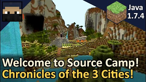 Welcome to Source Camp! Minecraft Java 1.7.4