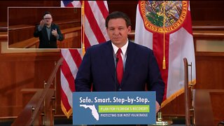 Gov. DeSantis supports Florida parents having choice between in-person or virtual learning   Press Conference