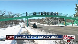 Omahans protest executive order