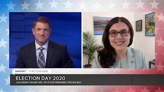 Morning update on Election Day with Colorado Secretary of State Jena Griswold