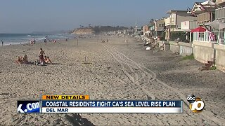Battle brewing between Del Mar and Calif. over sea level rise