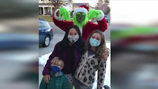 Littleton Grinch stealing shrieks and squeals to bring holiday cheer