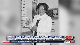 NASA renames headquarters after engineer Mary Jackson