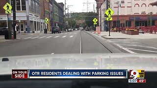 OTR residents dealing with parking issues