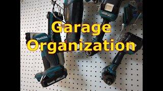 Garage Organization Part 1