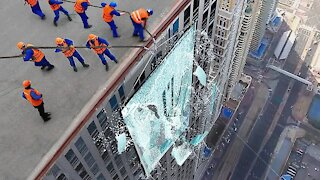 35 Times The Glass Was Not Strong Enough !