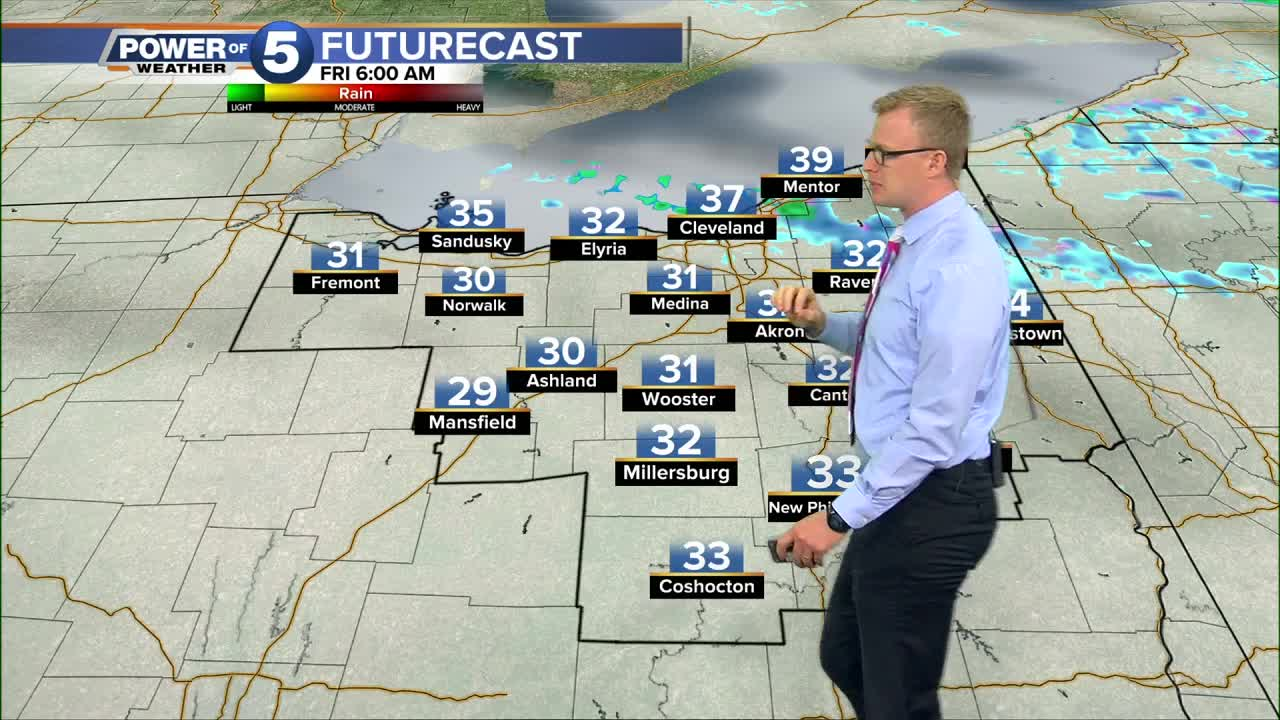 What to expect for the Friday morning commute