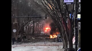 Breaking News: Explosion in Downtown Nashville Tennessee Christmas Morning 2020