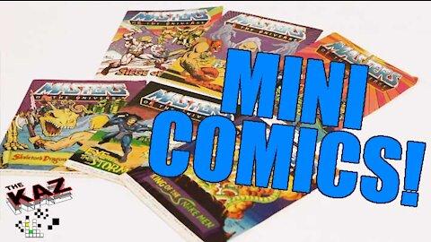 Masters of the Universe Mini Comics!