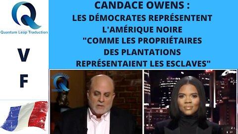 CANDACE OWENS : LES DÉMOCRATES NE REPRÉSENTENT PAS LA COMMUNAUTÉ NOIRE !