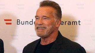 Arnold Schwarzenegger Aids Young Wrestler In Fight