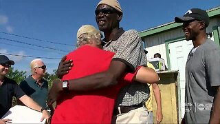 Agape Flights delivers Christmas dinners and gifts to struggling families in Freeport, Bahamas