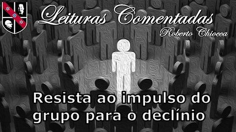 #39 Leituras Comentadas - Conformidade o vício do covarde