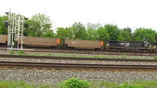 Norfolk Southern 447 Freight Train from Berea, Ohio