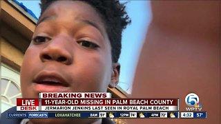 11-year-old boy missing in Royal Palm Beach
