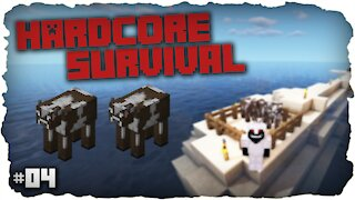 Long Journey For Cows | Hardcore Survival | Minecraft | #4