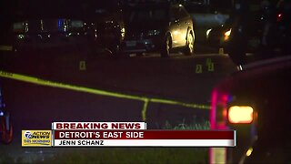 Police investigate massive shooting scene on Detroit's east side