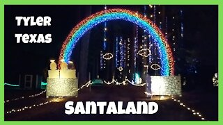 The Best Christmas Lights in Texas?!