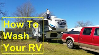 Cleaning RV Awning | How to Wash Your RV