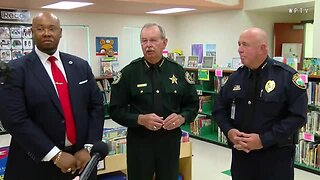 Palm Beach County officials discuss first day of school (4 minutes)