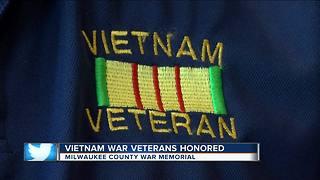 Vietnam War veterans honored