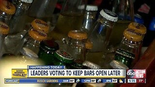 Treasure Island commissioners to vote on extending drinking hours