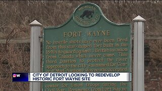 City of Detroit looking to redevelop historic Fort Wayne site