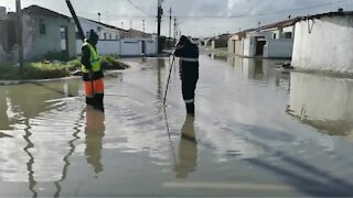 Flooding in Cape Town