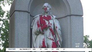 George Washington statue vandalized