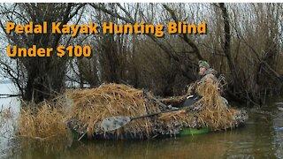 Hunting Blind for Pedal Kayak