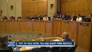 City Council to tackles hotel tax, short-term rentals