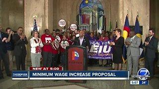 Denver Mayor Michael Hancock proposes raising minimum wage to $15 per hour for city employees