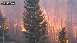 More resources on site for Straight Creek Fire burning east of Silverthorne