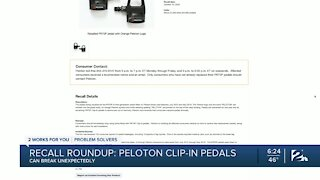PS Recall Roundup: Recalls listed for brand exercise equipment and food products