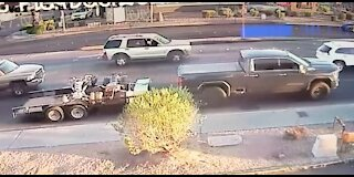 Las Vegas police looking for truck after fatal hit-and-run crash