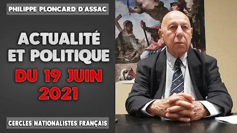 Actualité et politique du 19 Juin 2021