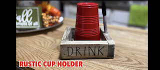 DIY cup holder-redneck cup holder-solo cup holder