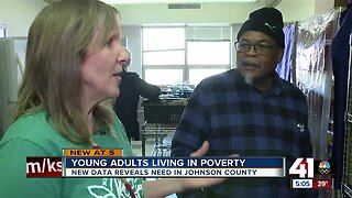 Young adults living in poverty