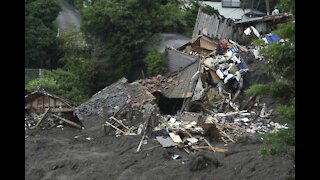 Japan Searches for Dozens Missing in Mudslide; 4 Dead