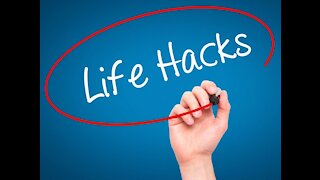 Easy, Amazing Life Hacks And Tricks