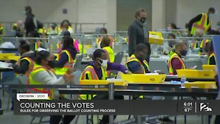 Reviewing ballot-viewing law amid President Trump campaign lawsuits