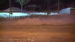 Water main break closes portion of Engle Road