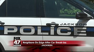 Jackson neighbors fed up with break-ins