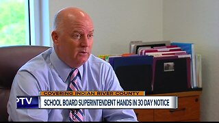 Indian River County schools superintendent leaving May 24