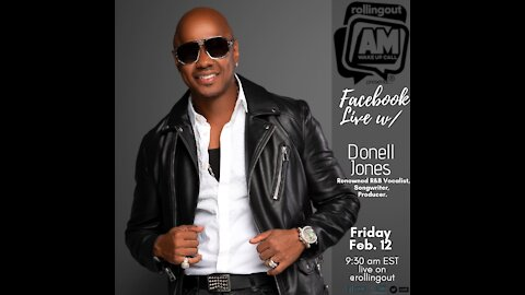 Multifaceted R&B sensation Donell Jones discusses '100% Free' on AM Wake-Up Call