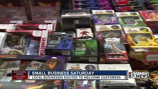 Business owners looking forward to Small Business Saturday sales
