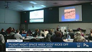Flight Night Space Week 2020 Kicks Off