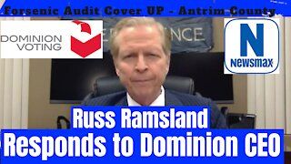 Russ Ramsland Responds to Dominion CEO - and Antrim County Forensic Audit Cover UP - 12/18